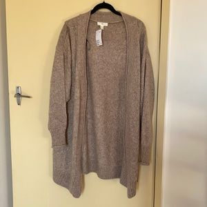 Light brown over sized cardigan